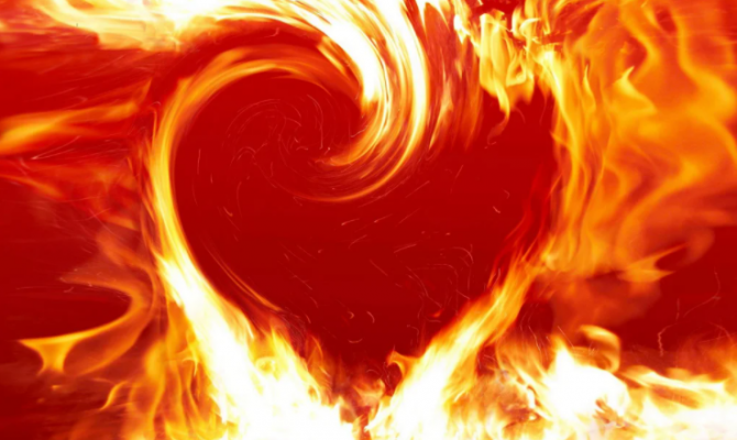 «Храня огонь любви большой»