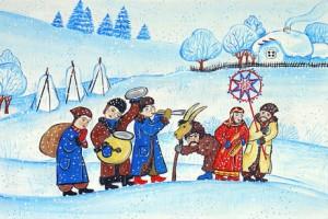 «У зимы в святки свои порядки» развлекательная программа