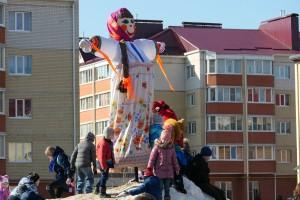 Бобровцы дружно проводили зиму