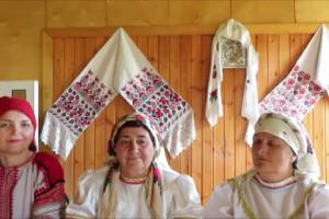 Песни села Верхний Икорец.