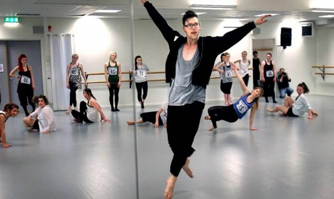 Мастер-класс по эстрадному танцу.