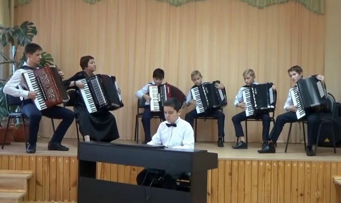 Отчётный концерт Слободской ДШИ им.А.Г. Яковлева