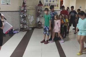 Агитационная игровая программа с детским лагерем МБОУ СОШ № 1