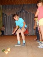 19 августа в Никольском сельском клубе прошла конкурсная игровая программа «Яблочный денек»