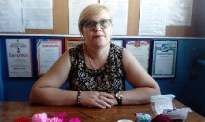 Мастер-класс проводит Светлана Пшикова