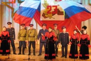 Отчетный концерт народного вокального ансамбля