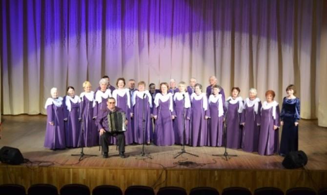 Отчетный концерт народного хора ветеранов РДК