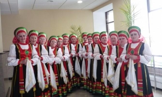 Отчетный концерт народного ансамбля