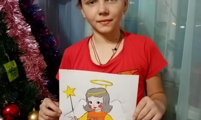 Примите поздравление с Рождеством от Юдановского ДК.