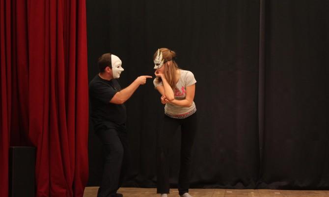 Мастер-класс по актерскому мастерству.