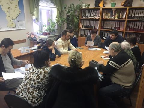 Рабочее совещание  руководителей коллективов художественной самодеятельности со званием «народный».