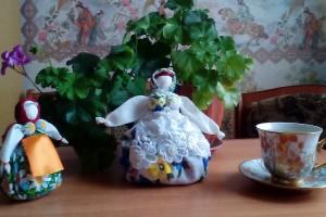 Мастер класс по изготовлению куклы Кубышка-Травница. Мастер класс от зав.Юдановским ДК Григорьевой В.В.