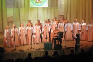 Народному хору ветеранов войны и труда РДК - 25 лет