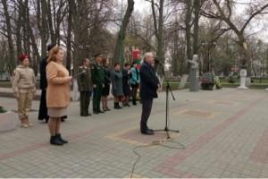 Митинг у памятника Чернобыльцам 2018