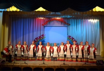 Коршевской народный хор имени А. Кубасова