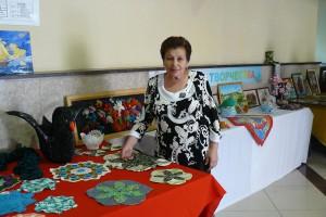 Выставка работ женского клуба рукоделия «Кудесница»