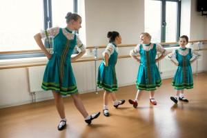 Мастер - класс по народному танцу.