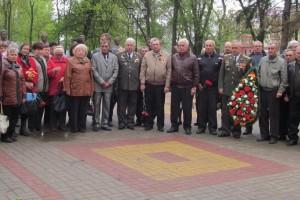 Митинг посвященный 31-й годовщине аварии на Чернобыльской АЭС