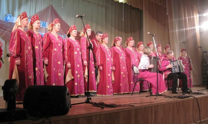Отчетный концерт Коршевского народного хора им. А. Кубасова