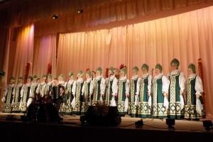 Отчетный концерт слободских народных коллективов