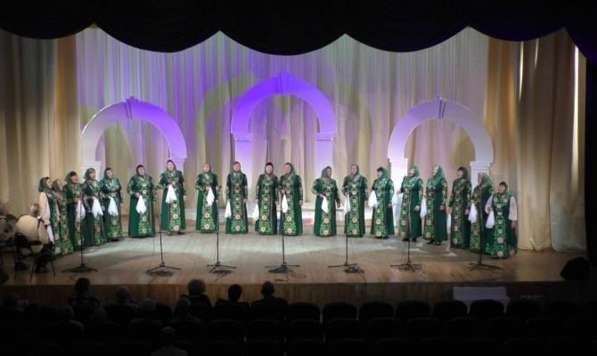 Отчетный концерт народного хора им. Кубасова