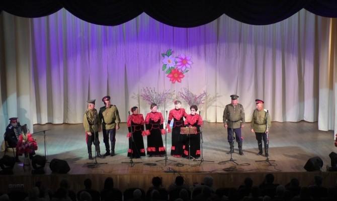 Отчетный концерт народного ансамбля «Рута»
