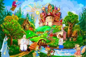 Выставка рисунков «Что за чудо эти сказки»